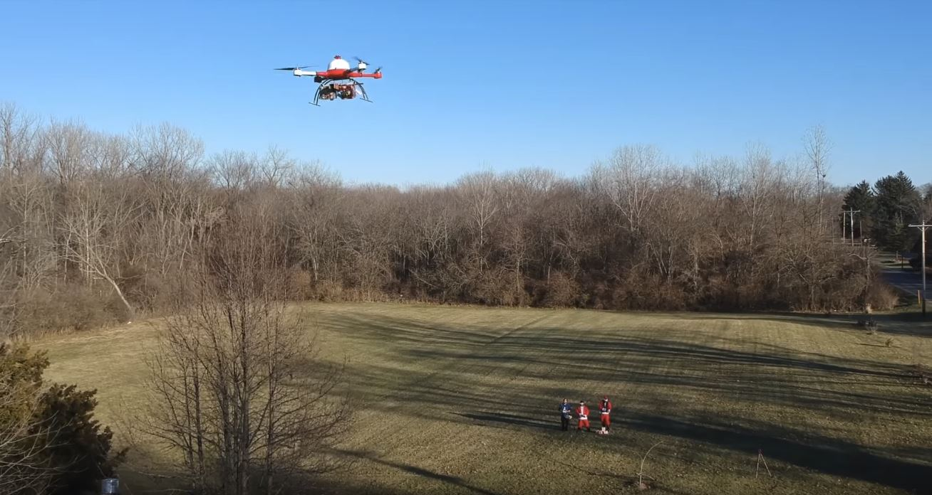 Santa Drone