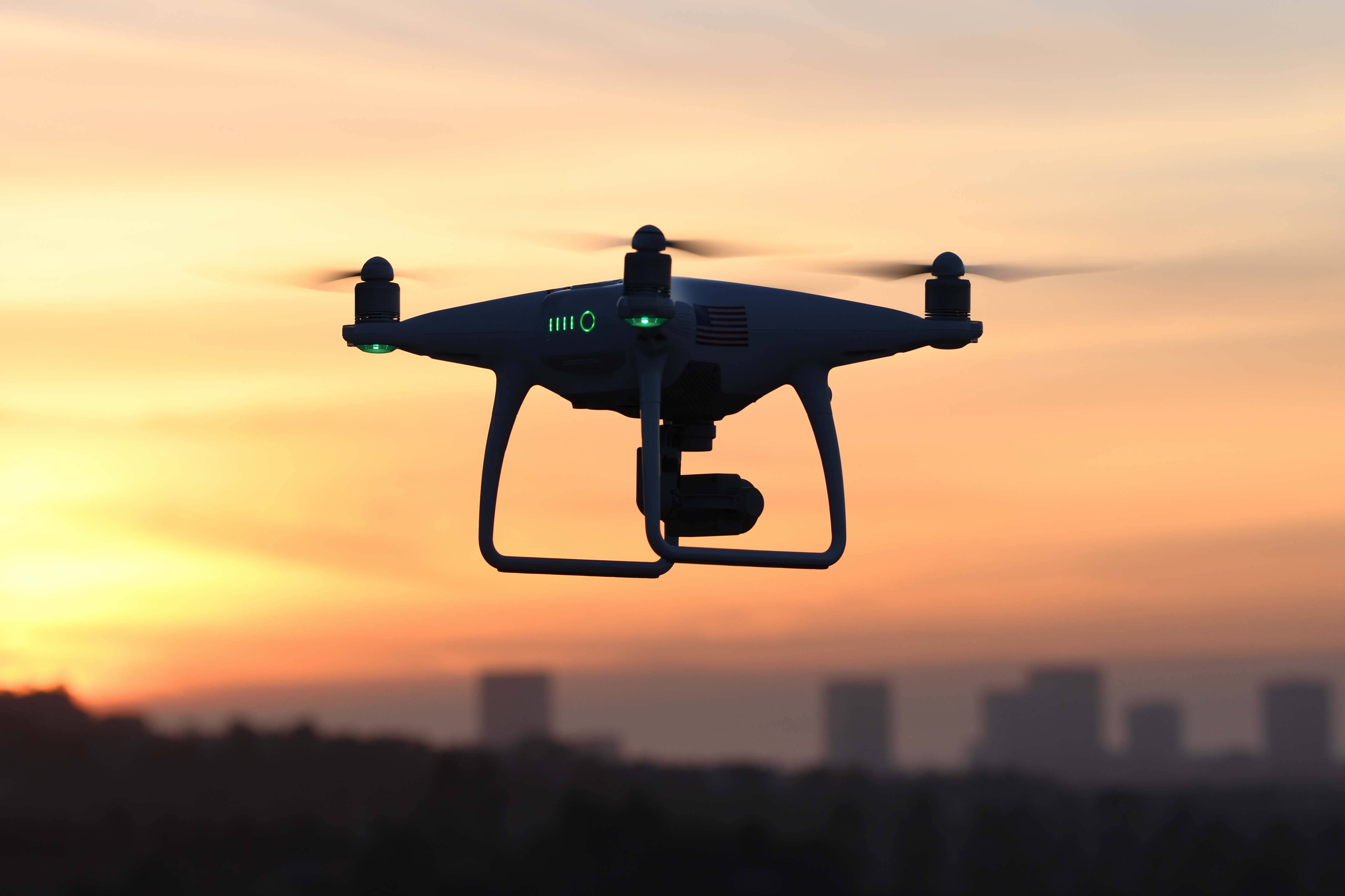 how drones fly