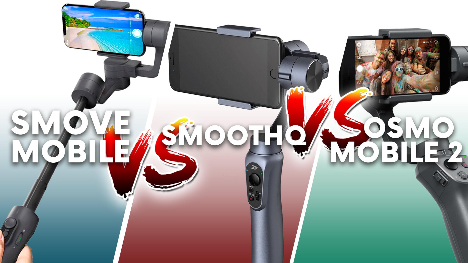 Smove Mobile Vs Smooth Q Osmo 2 Zhiyun Tech Smartphone Gimbal Share Tweet