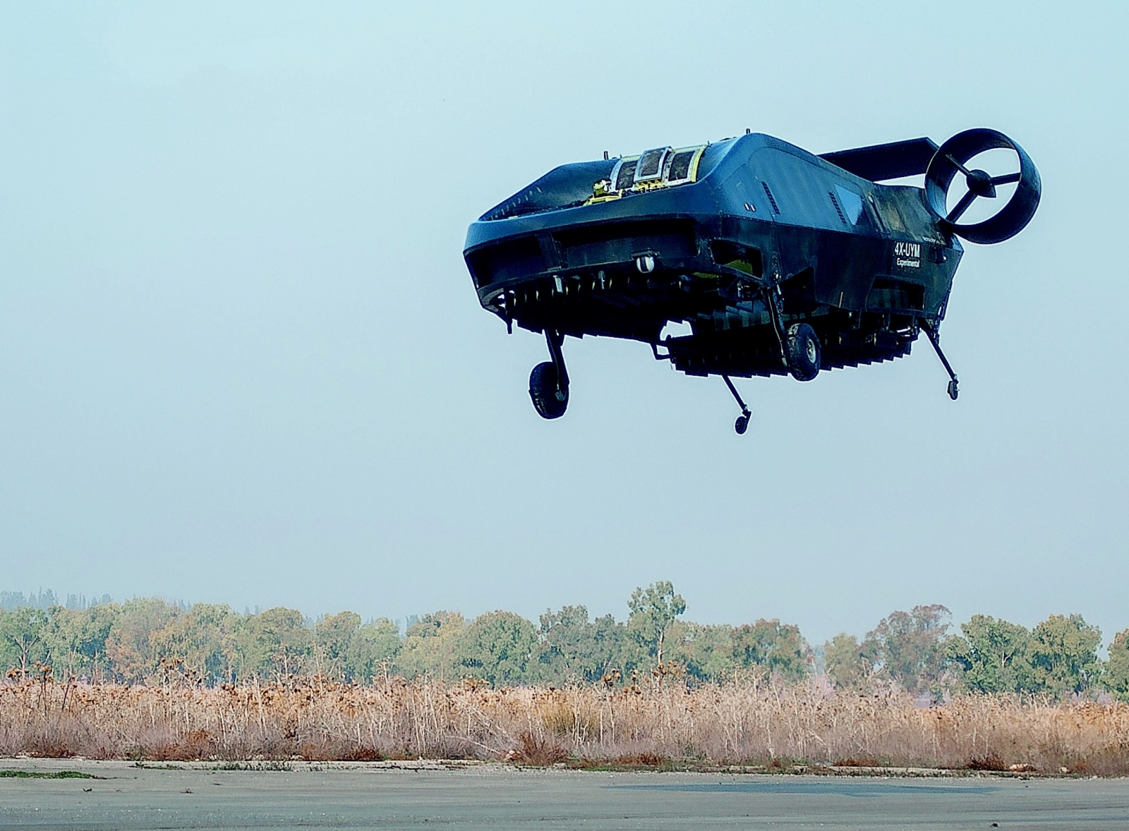 This VTOL UAV carries passengers and can fly where