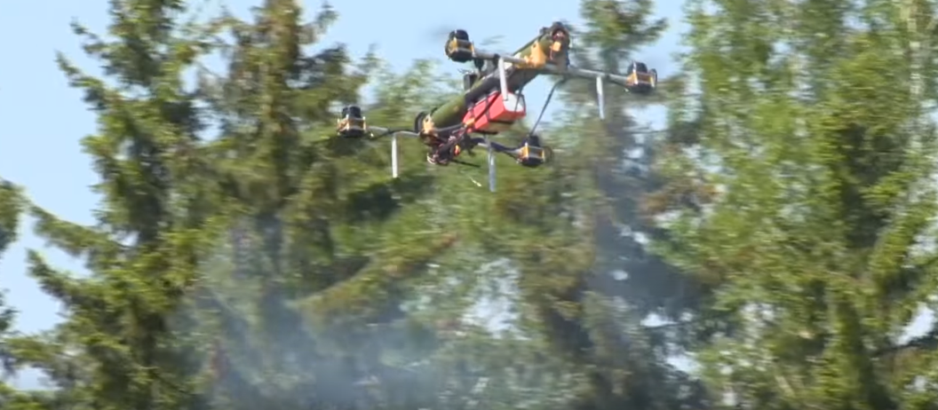 drone rocket launcher