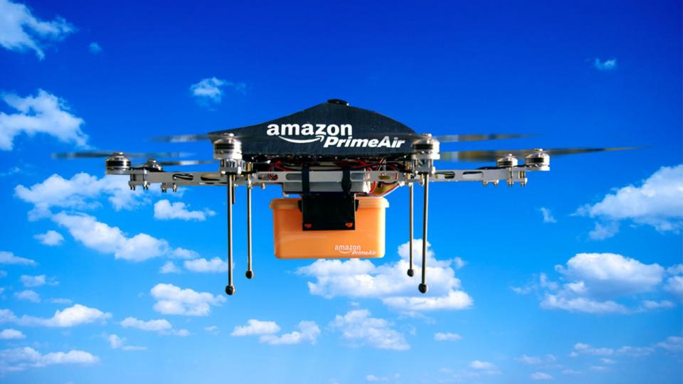 Amazon tests drone traffic management systems to prevent aerial ...